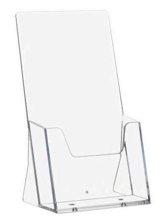 red kiwi DIN-Lang-1-3-Din-A4-Prospekthalter-Hochformat-transparent